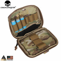 Emerson Tactical MOLLE Combat Multi-purpose Admin Pouch Map Bag Hunting Pouch MC