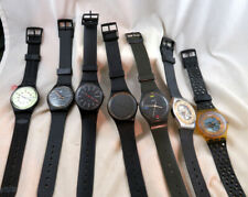 SWATCH Lot 7 Gents Watches Blackout Don't Be Too Later Other 1980's