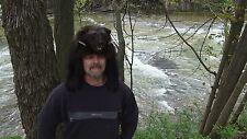 Taxidermy wolverine fur hat * mountain man powder mens womans beaver hats pelt