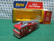 E.R.F.  FIRE  TENDER   -   Dinky Supertoys  266    Nuovo / Mint in Box