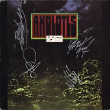 SLAYER Axolotls, FULLY SIGNED Vinyl LP Jeff Hanneman Tom Araya +2 Live AUTOGRAPH