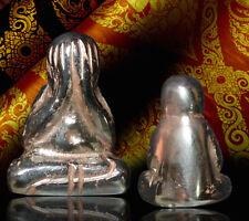 Phra Pidta Pitta Closed Eyea Leklai Umlkum Mountain Thai Buddha Amulet Pendant