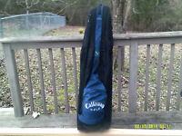 Callaway Golf Travel Case Club Cover Bag Padded Wheeled..Heavy Duty.. Nice!!!