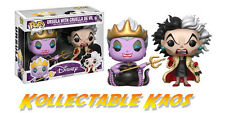 Disney - Ursula with Cruella de Vil Pop! Vinyl 2-pack (RS)