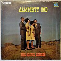 The Gospel Echoes Almighty God LP NM Shrink Stereo Gospel Religious Christian