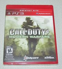 Call of Duty 4: Modern Warfare GH (PlayStation 3, 2010) PS3 GAME FACTORY SEALED!