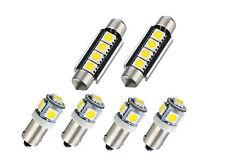 LED SMD INNENRAUMBELEUCHTUNG für AUDI S3 8L A3 8P 8PA A4 B6 B7 A6 C6 4F
