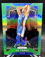 Ben Simmons 2019-20 Panini Prizm Prizms GREEN #198 Philadelphia 76ers