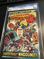 amazing spiderman 155. 25 Cents CGC 9.4 white pages - beautiful 44 YO comic