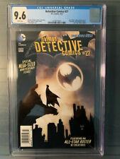 Detective Comics New52 2014 #27 CGC 9.6 NM Newsstand Variant! Super Rare!