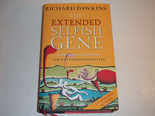 THE EXTENDED SELFISH GENE--SIGNED by RICHARD DAWKINS--1ST--HARDCOVER 2016