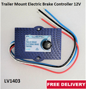 Trailer Mount Electric Brake Controller 12V 1 Axle 750kg Max FREE Delivery