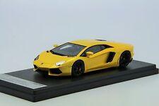 1/43 Looksmart Lamborghini Aventador LP700-4 Giallo Orion Free Shipping/ MR BBR