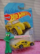 VW KAFER RACER #46 ✰ yellow; MOONEYES ✰VOLKWAGEN✰ 2019 i Hot Wheels WW CASE C