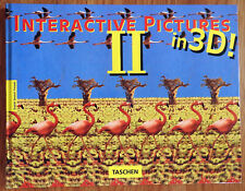 BRAND NEW - INTERACTIVE PICTURES II IN 3D! - COFFEE TABLE HARDBACK BOOK.