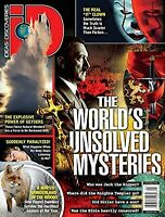 ID DISCOVERIES JANUARY 2020- THE WORLD'S UNSOLVED MYSTERIES- NEW AND UNREAD