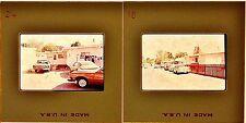 Lot of 8! Color Slides 35mm Twentynine Palms, California 1970's Cars