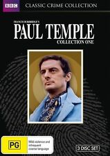 Paul Temple : Collection 1 (DVD, 2012, 3-Disc Set) New  Region 4