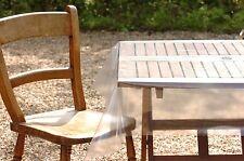 Protective plastic pvc vinyl cover clear tablecloths transparent colourless 2.5m