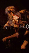 de Goya Art 11x17 Print Saturn Devouring One of his Children
