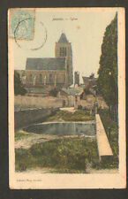JANVILLE (28) VILLAS & EGLISE en 1905