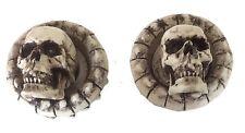 1969 FORD T-BIRD Galaxie Skull RADIO KNOBS Goth Punk Skull 4/pc set Made in USA