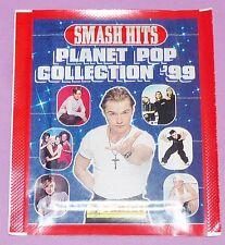 POCHETTE PANINI SMASH HITS PLANET POP 1998 FRANCE COLL. '99 BUSTINA PACKET