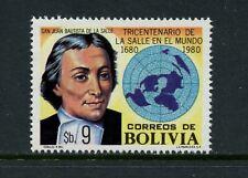 S009  Bolivia  1980   La Salle   educator   1v.   MNH