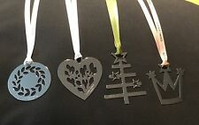 GEORG JENSEN SET OF 4 SILVER CHRISTMAS DECORATIONS