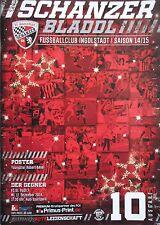 Programm 2014/15 FC Ingolstadt - FC St. Pauli