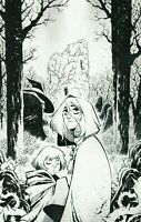 The Last Witch #1 (2021) One Per Store Jorge Corona Sketch Variant Boom! Studios