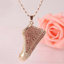 Family Friends Crystal Rhinestone Costume Necklaces & Pendants