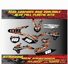 KTM SX 50 65 Graphics Kit Sticker Kit Decals MX RENTHAL