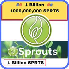 1 Billion 1000,000,000 Sprouts (SPRTS) CRYPTO MINING-CONTRACT (1 Billion SPRTS)