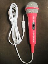 Brand New! Hello Kitty Karaoke Microphone Pink Color