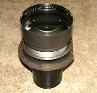 WORLD'S FASTEST ULTRA RARE X-RAY LENS R-Biotar 100mm F0.73 by CARL ZEISS JENA