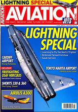 AVIATION NEWS 79/03 MAR 2017 EE Lightning Spl,Shorts 330,360,Cardiff,Tokyo,A300
