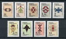 Turkey 2017 MNH Anatolian Motifs 9v Set Patterns Design Art Stamps