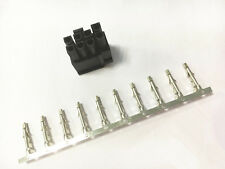 50X 5557 8p (6+2) Pin ATX EPS PCI-E Connector with 400X Terminal Crimp pin Plug