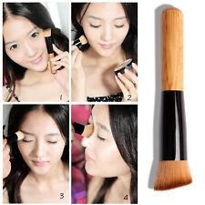Pro Tech Makeup Brushes Cosmetic Foundation Blush Angled Flat Top Liquid Brush