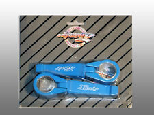 1986 Odyssey BMX Bike Old School Pivot Wings Clamp-on Fork pegs, Blue