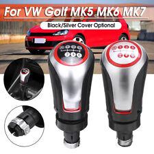 6 Speed Car PU Leather Gear Knob Shifter For VW Golf MK5 MK6 MK7 Jetta Scirroco