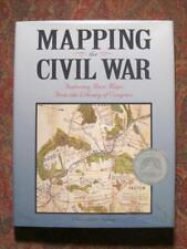 MAPPING THE CIVIL WAR - FEATURING RARE MAPS - BRAND NEW DJ IN BRODART COVER MINT