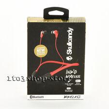Skullcandy Ink'd In-Ear Bluetooth Wireless Headphones Headset w/Mic (Red/Black)