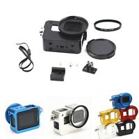 For GoPro Hero 5 Camera Aluminum Protective Frame Mount +52mm UV Filter Lens Cap