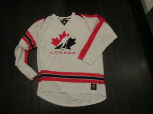 TEAM CANADA Hockey White Jersey XL