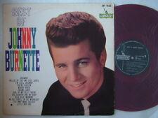 RED VINYL / JOHNNY BURNETTE BEST OF / 60'S FLIP BACK COVER
