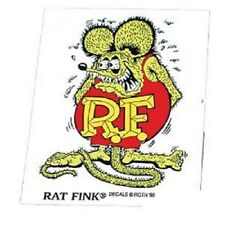 RAT FINK ED ROTH STICKER RAT HOT ROD OLD SCHOOL VTG MOONEYES RD003