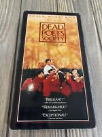 Dead Poets Society VHS Tape With Robin Williams