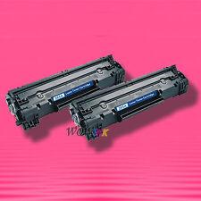 2 Non-OEM Alternative TONER for HP CE285A 85A LaserJet M1213nf M1214nfh M1139